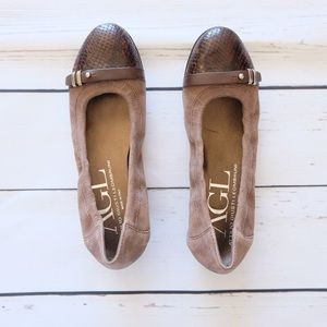 AGL Ballerina Flat Shoes Size 5